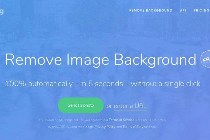 Ferramenta para remover o fundo de imagens automaticamente