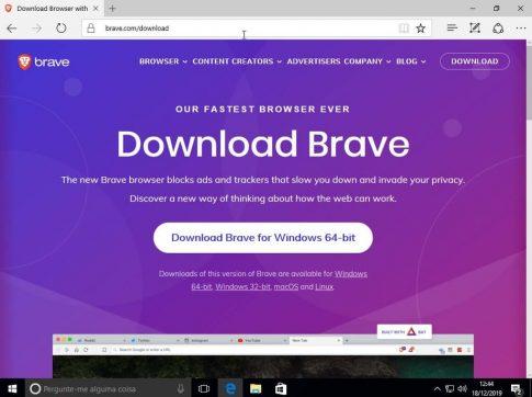 Como acessar a Deep Web usando o Navegador Brave