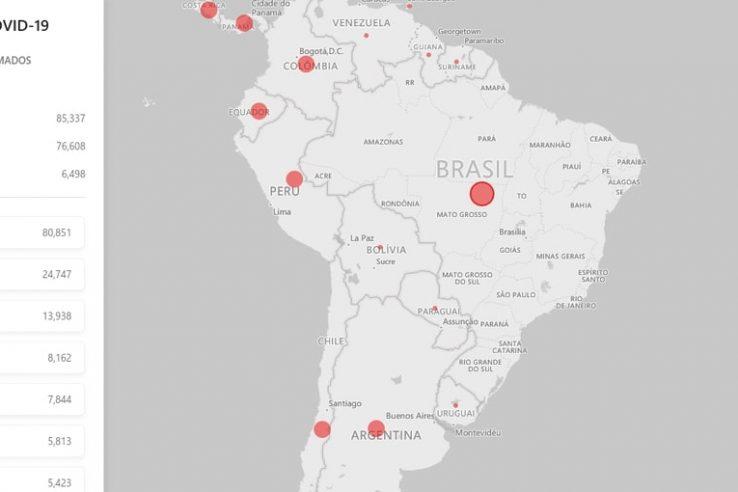 Como Acompanhar Infecções por Corona Vírus online