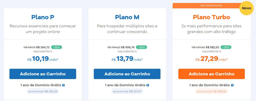 Review Hostgator Brasil - Os planos de hospedagens de sites