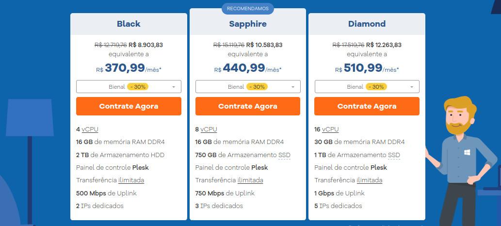 Servidores Dedicados Windows na Hostgator Brasil