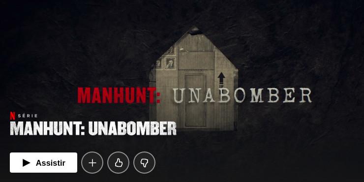 Série Man Hunt Unabomber Netflix