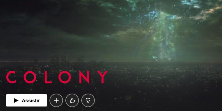 Colony uma das melhores Séries de mistério para assistir na Netflix