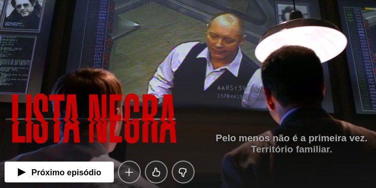 Séries de mistério para assistir na Netflix - Lista Negra - The Blacklist