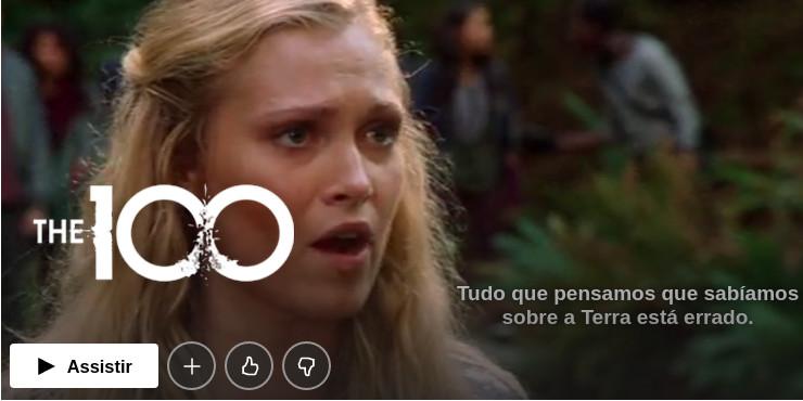 The 100 série de mistério Netflix