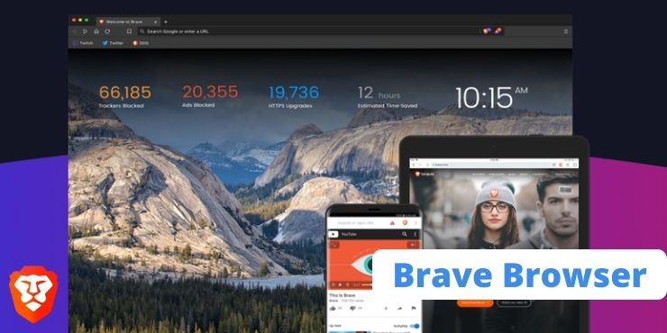 Navegadores de Internet Brave Browser