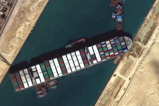 Liberação do Canal de Suez faz Google criar easter egg