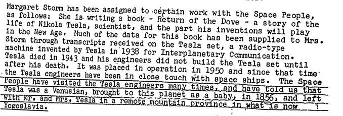 Relatório do FBI informa que Nikola Tesla seria do um extraterrestre enviado ainda bebê para a terra.
