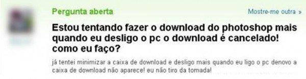 Como fazer download com o pc desligado?