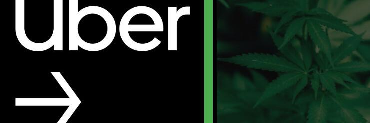 Entrega de cannabis no Uber