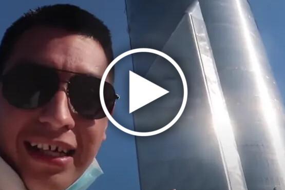 Youtuber invade instalações da SpaceX no Texas